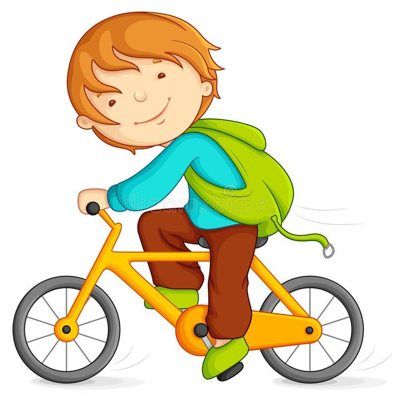 Boy Cycling Editable Vector Illustration Of Boy Doing Cycling Ad Editable Cycling Boy Boy Illustratio Bike Illustration Bike Drawing Boy Pictures