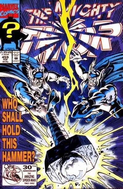 Mighty Thor # 459 by Ron Frenz & Al Milgrom