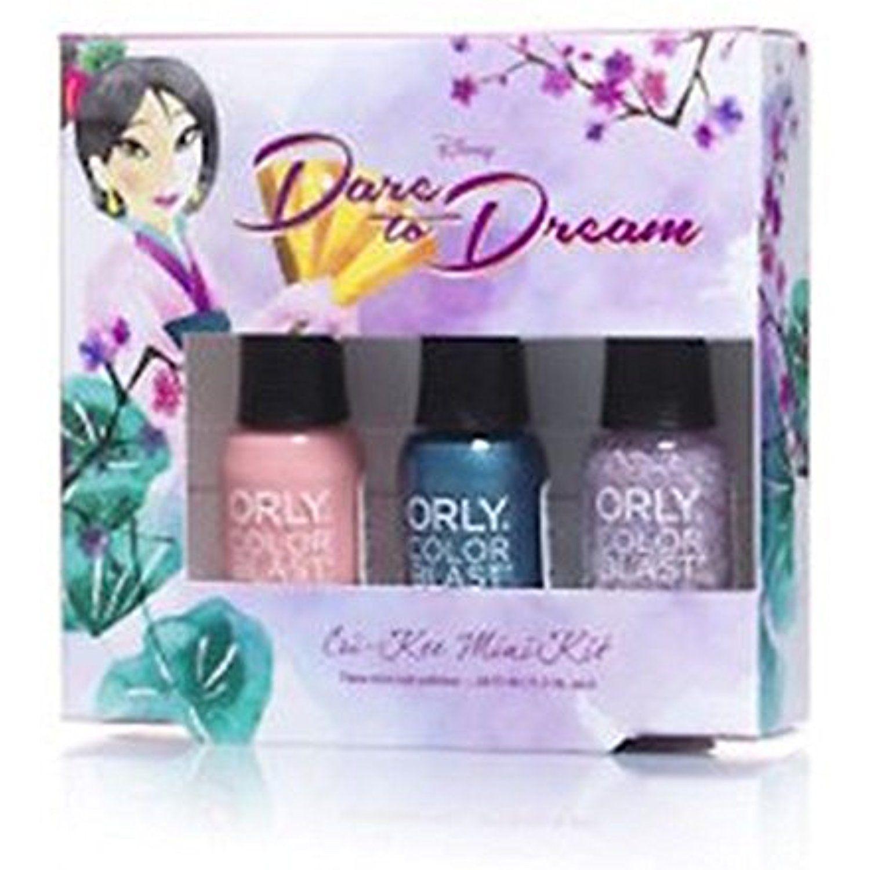 Disney Mulan Dare to Dream Mini Nail Polish Set Want to