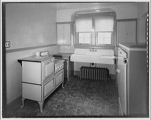 1920s 1930s kitchen from library of congress 1930s for Modern 1920 s kitchen