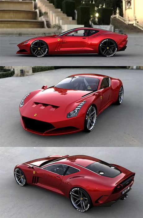 Pin By Rony Lopez On Cars And Bikes Ferrari 612 Concept Cars