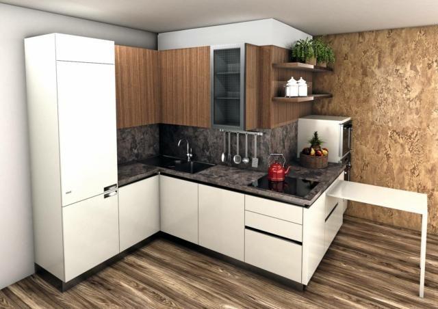 Progetti cucina per meno di 10 mq: 4 soluzioni con i ...