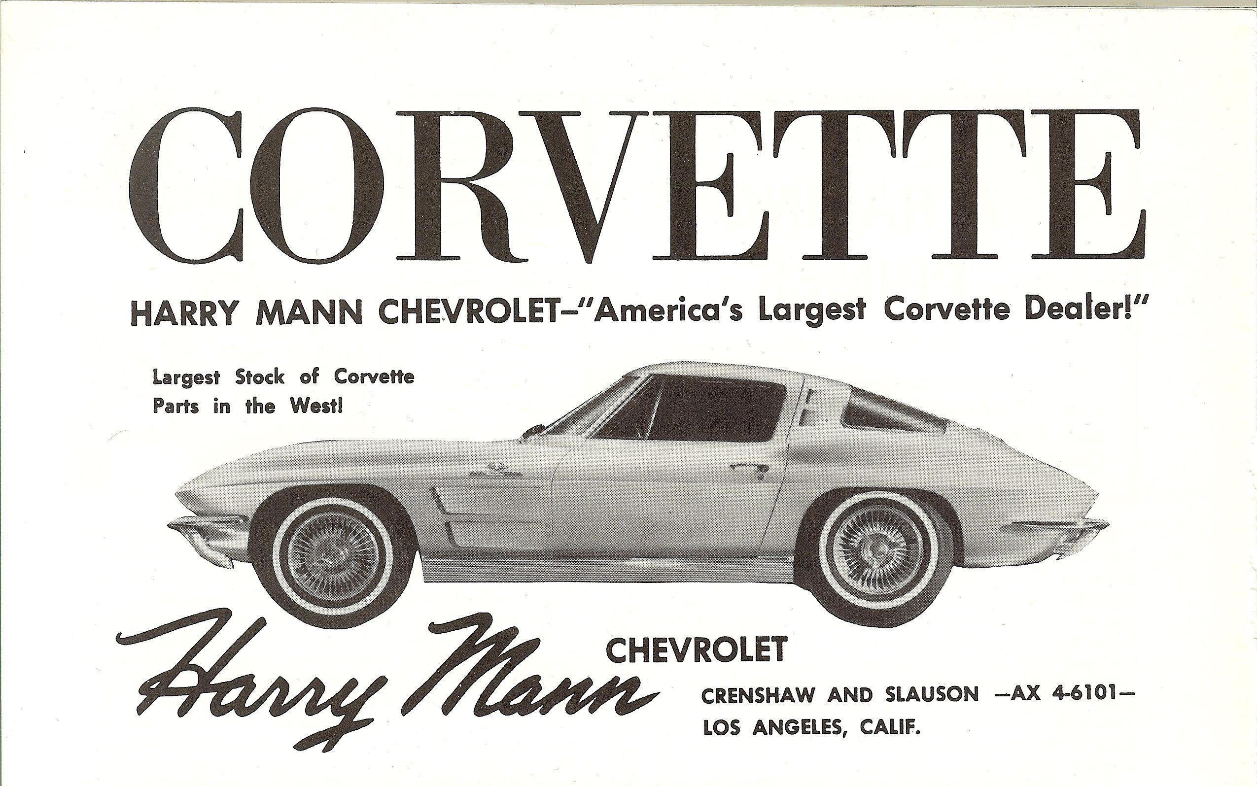 Vintage Chevrolet Dealership Advertisements
