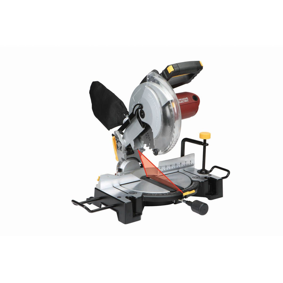 10 In Compound Miter Saw With Laser Guide System Compound Mitre Saw Sliding Compound Miter Saw Guide System