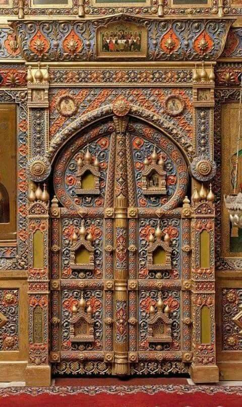 Interior Door St Basilu0027s Cathedral Moscow - Russia & Pin by Vitaly Vishnj on doors | Pinterest | Doors and Architecture