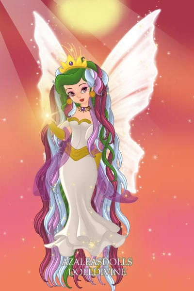 princess celestia ~ by purplevampire ~ created using the Pixie doll maker | DollDivine.com