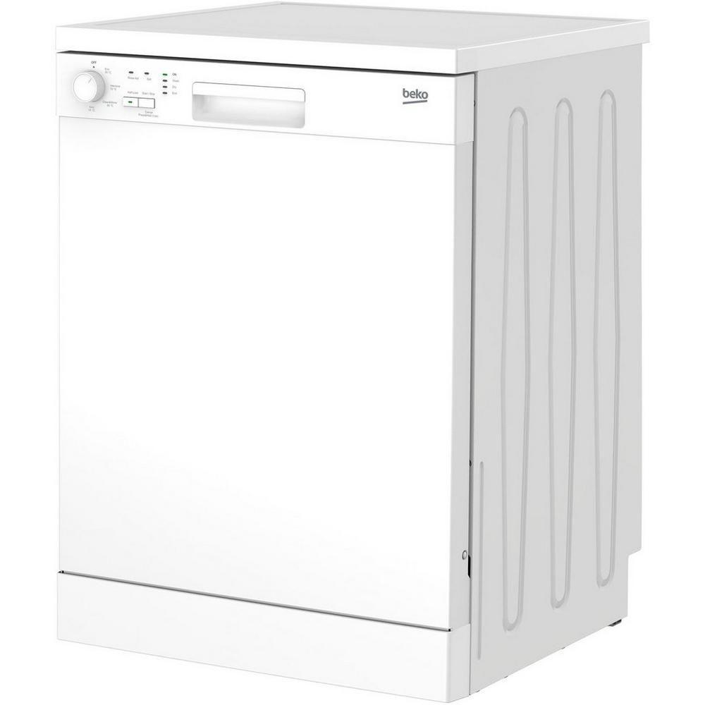 Beko DFN04C11W Full Size Dishwasher White American