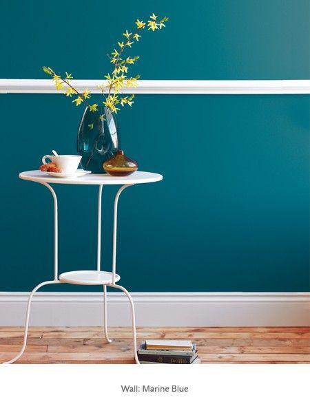 Marine Blue Period Paint Colours By Colour