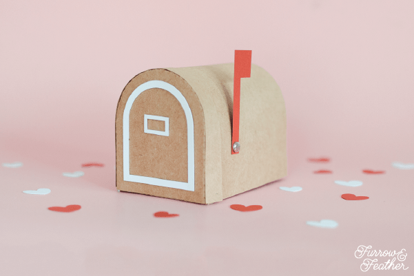 Detailed photo instructions on how to assemble the 3D Paper Mailbox, a cut file from the Silhouette Design Store. Using your Silhouette CAMEO or Curio.