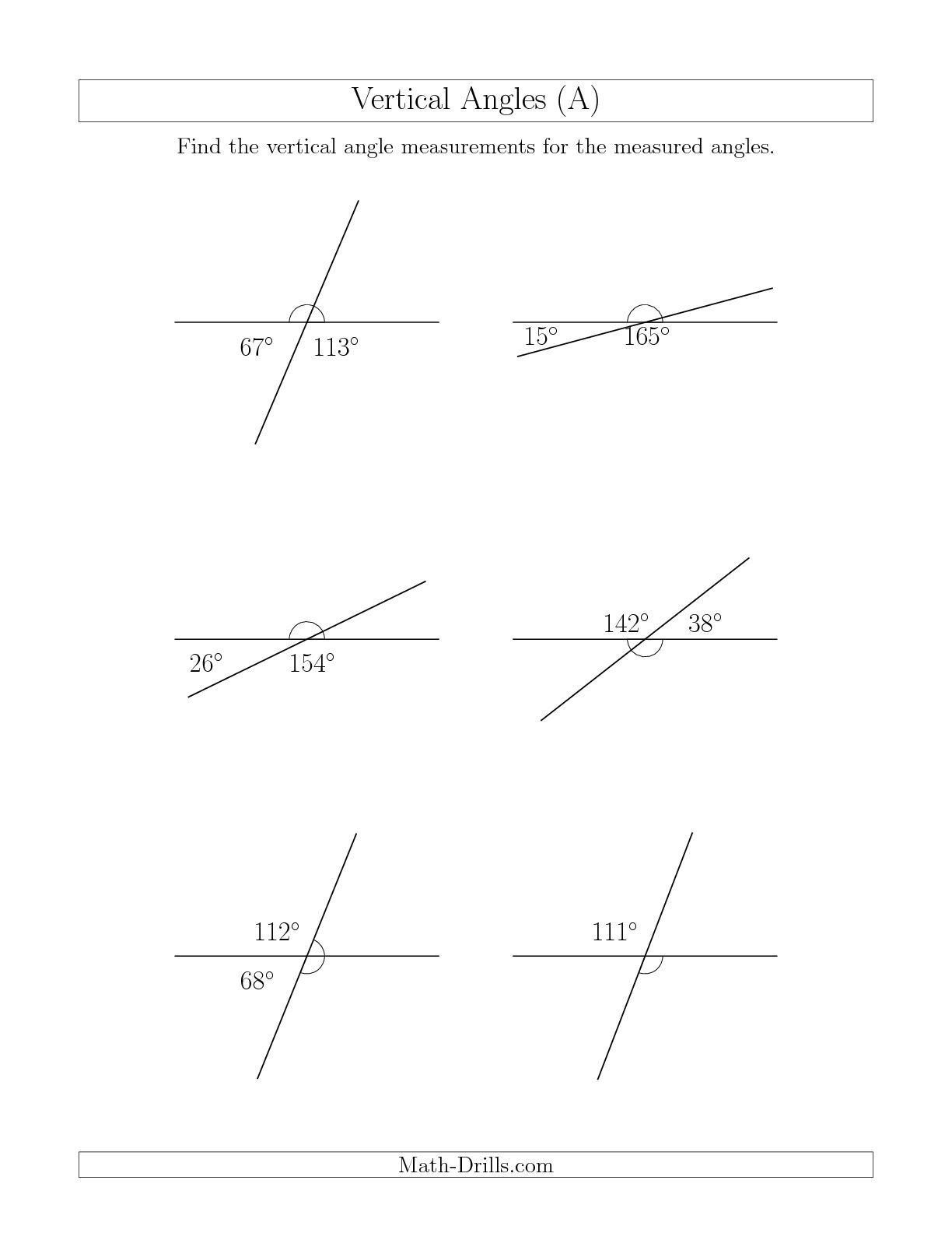 Measurement Of Angles Worksheet   Printable Worksheets and Activities for  Teachers [ 1584 x 1224 Pixel ]