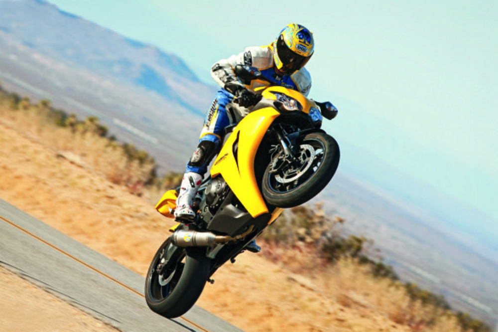 Wheelie in a motorcycle There are three kinds of wheelie