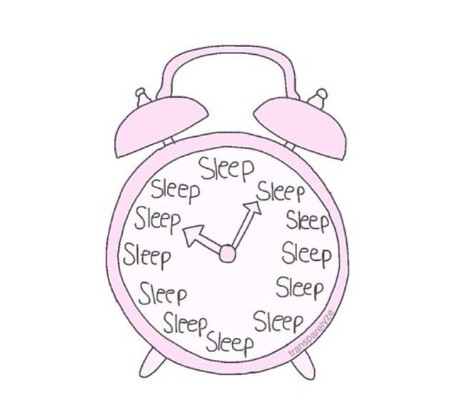 Mood Sleep With Images Clock Drawings Pink Clocks Tumblr