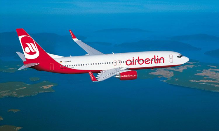 Air Berlin Worldwide Airliners Travel Flights Airplane Airline