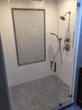 Emerald City Tile And Stone Llc Shower In 3 X 10 Ceramic Tile