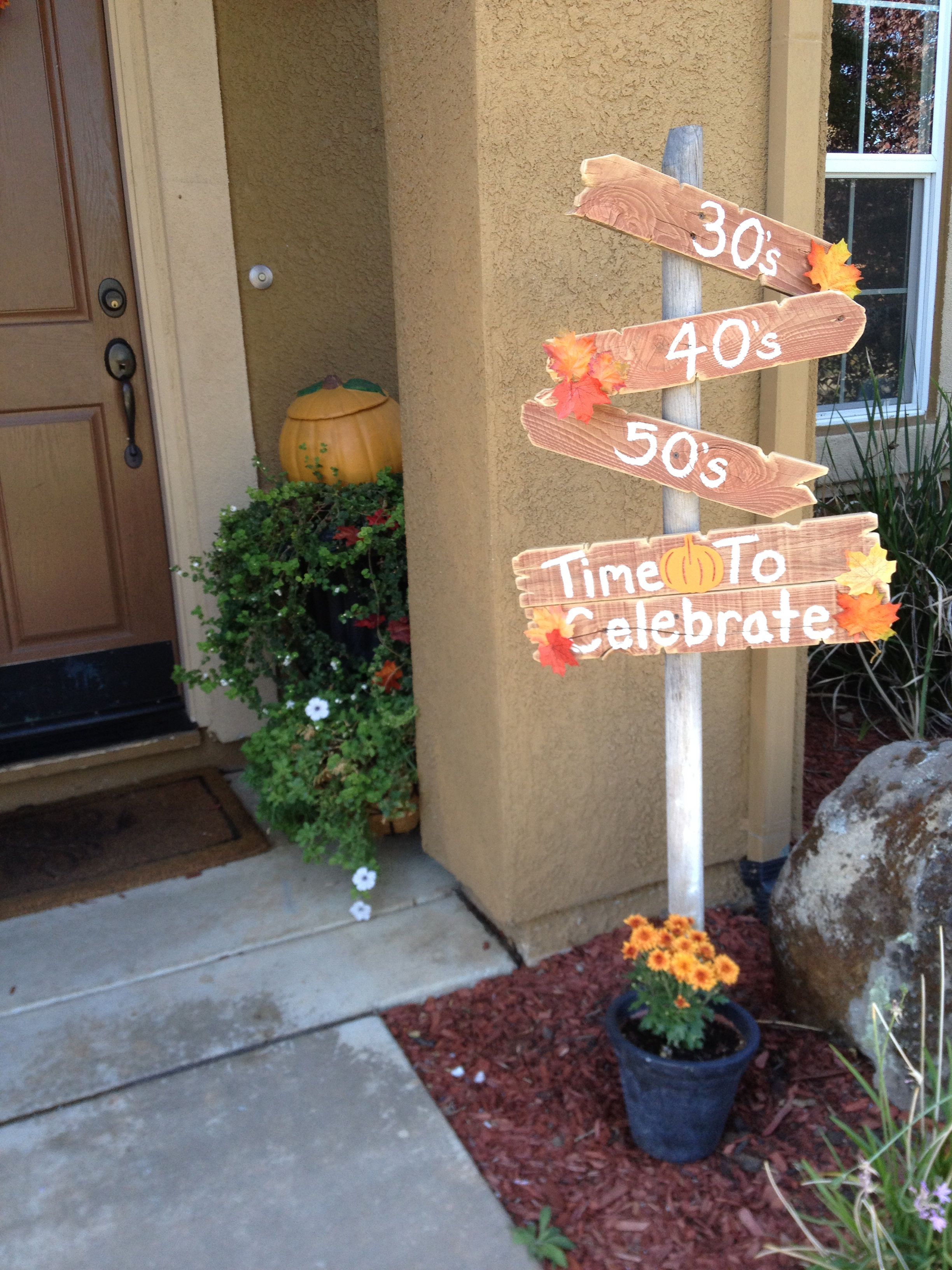 50th birthday sign. | 50th birthday, Birthday sign, Party ...