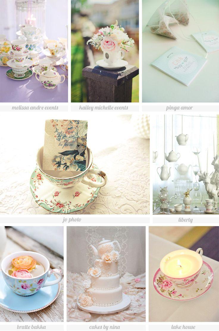 Tea themed wedding ideas