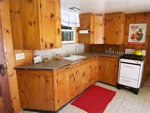 Homemade Pine Kitchen Cabinets Yahoo Image Search Results