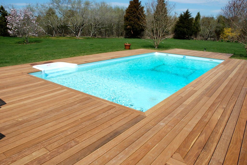 Ipe 39 Decking Around In Ground Pool In The Hamptons Long Island Decks Pinterest Ground