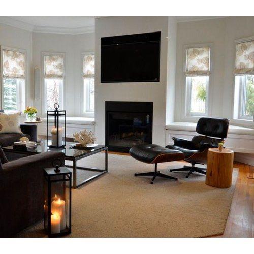 Fernsehsessel Für Das Wohnzimmer   Eames Lounge Chair Mit Ottomane