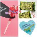 Valentine Craft: Valentine's Day Blast-off Rocket Candy Card | Spoonful