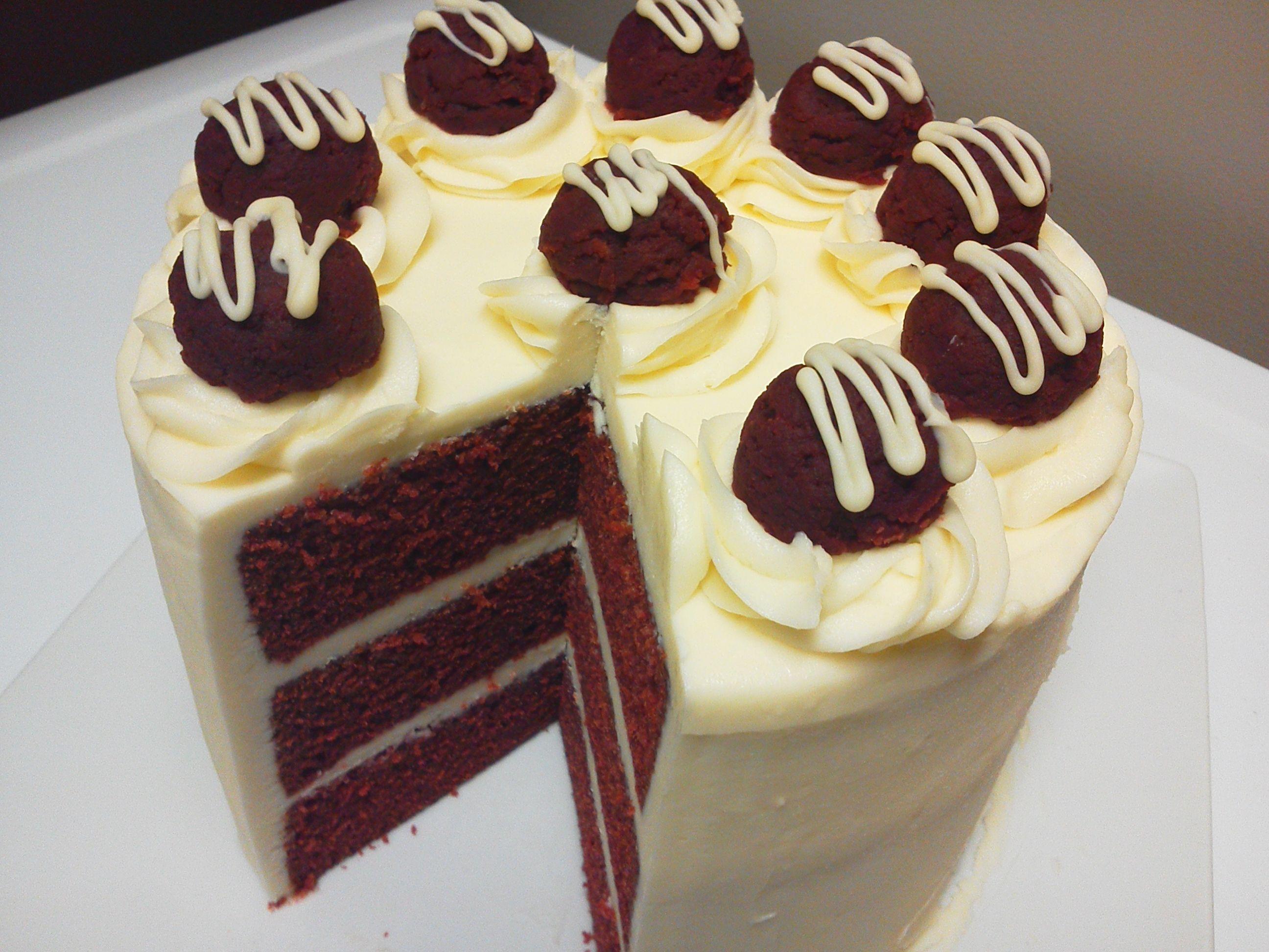 Terrific Red Velvet Cake Delivered Red Velvet Birthday Cake Cool Personalised Birthday Cards Xaembasilily Jamesorg