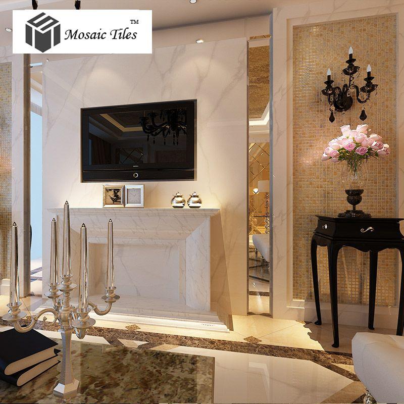elegant living room idea goldn glass mosaic tile with inner flowery pattern amazing transitional hotel decorelegant