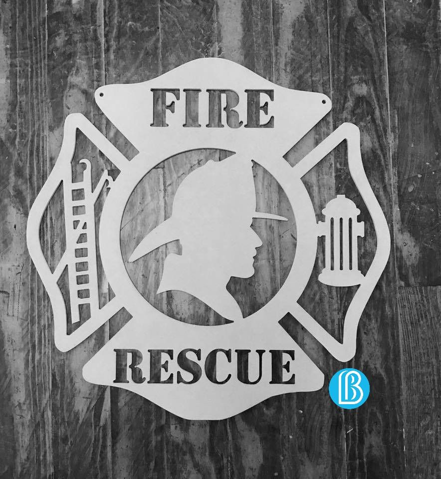FIRE RESCUE | Jobs   Fireman   Home Decor   Custom   Glitter   Rhinestones