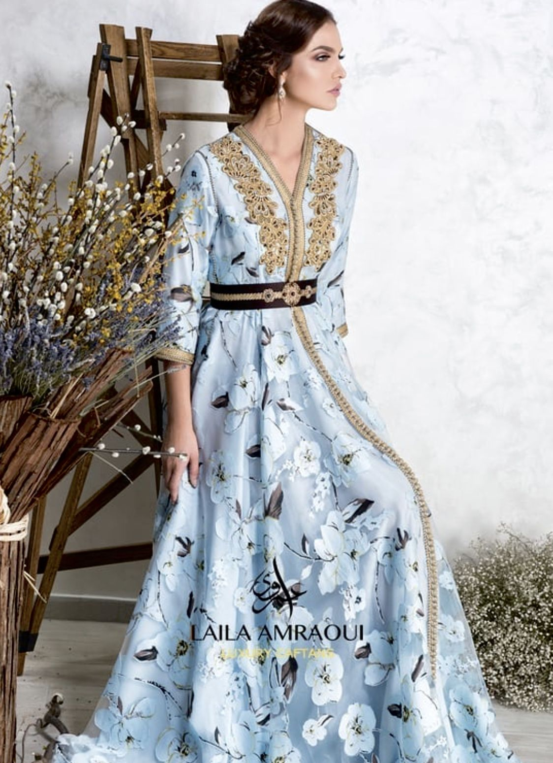 ليلى العمراوي   moroccan fashion, morrocan dress, couture