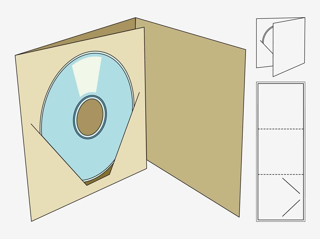 Cd Packaging Templates - Google Search | Package | Pinterest | Cd