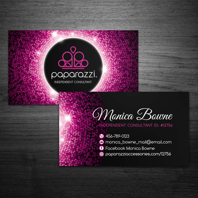 Paparazzi Business Cards | paparazzi | custom business card ...