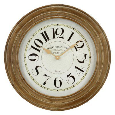 Aspire Hayes Wooden 23.5 in. Wall Clock - 3984
