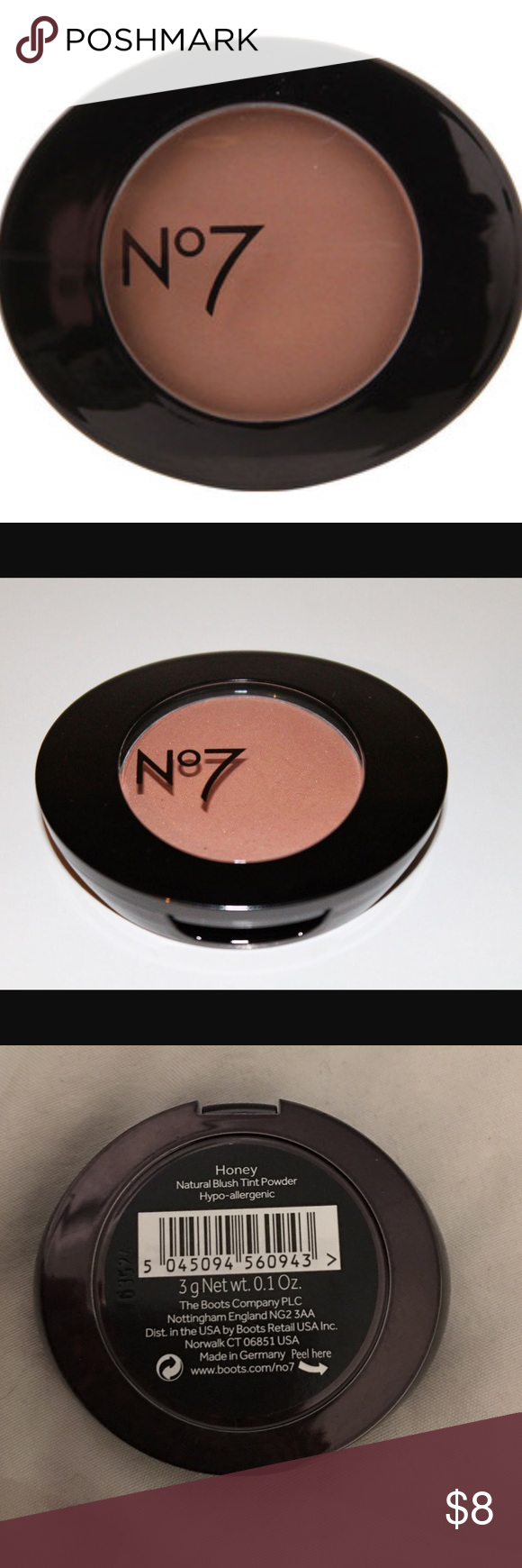 New Boots No 7 Blush In Honey New Boots No 7 Blush In Honey Brand New Beautiful Natural Color Hypoallergenic Please See P Blush Makeup Items Fashion Design