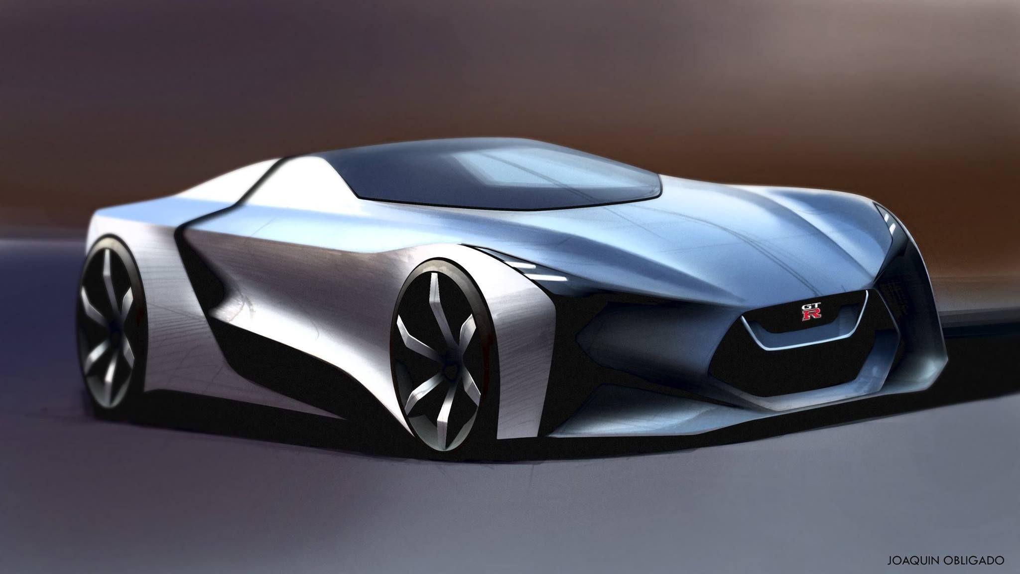 Joaquin Obligado Nissan GTR 2025 | HOT SKETCHES ...