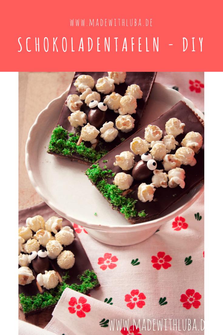 schokoladentafeln selber machen ostern diy rezepte easter diy food pinterest. Black Bedroom Furniture Sets. Home Design Ideas