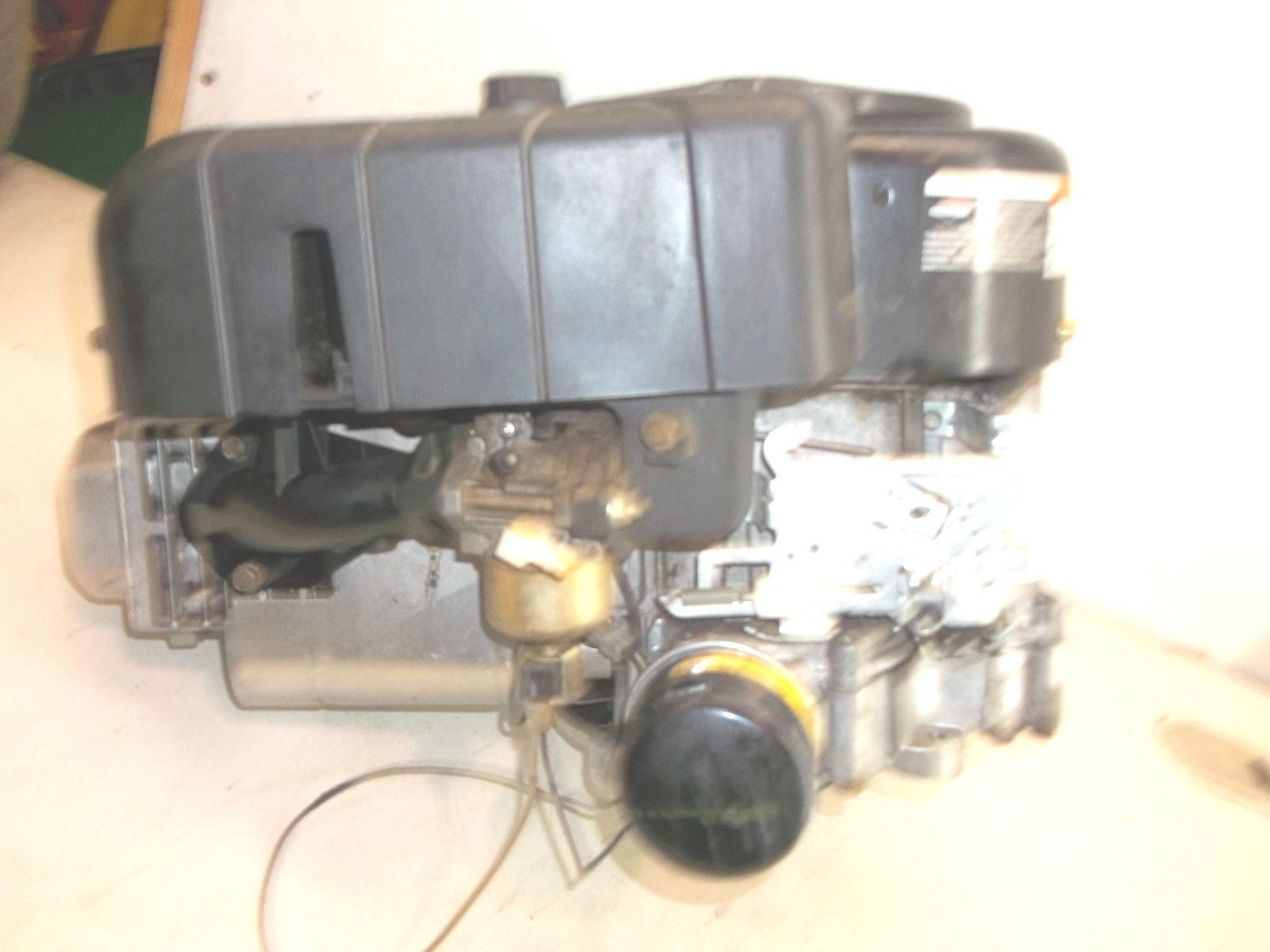 1999 Troy Bilt 17 42 Lawn Tractor Part 17 Hp Briggs Intek And Stratton Engine Lawn Tractor Tractor Parts Stratton