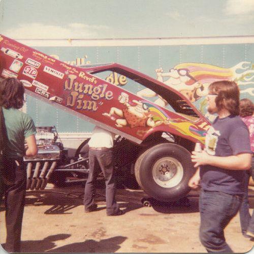 Jungle Jim Liberman 1974 Chevy Vega Nitro Funny Car