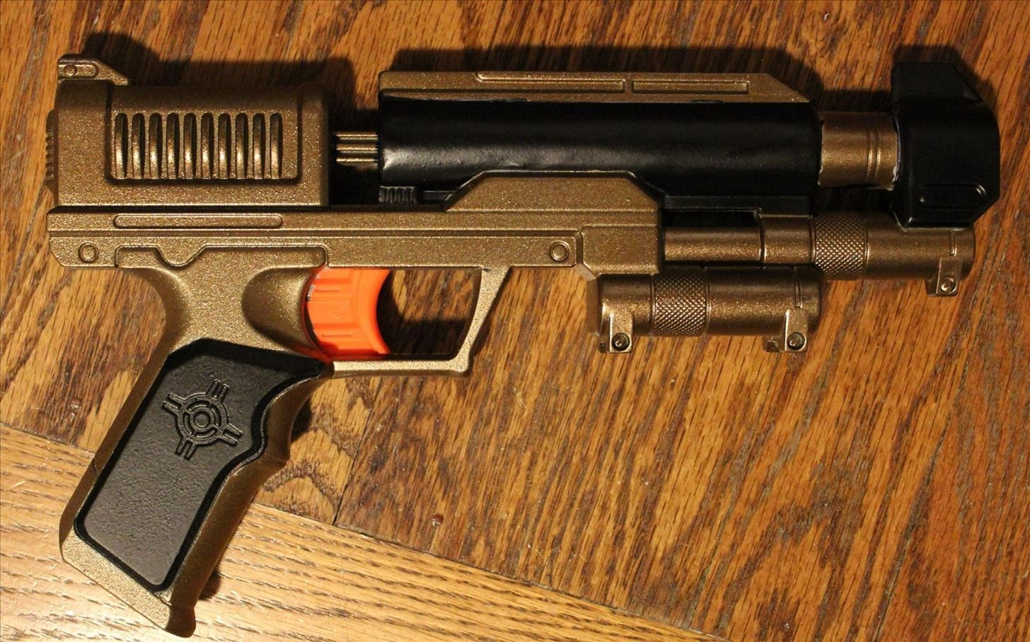 The Easiest Way to Paint a Steampunk Nerf Gun (No Disassembly Required)