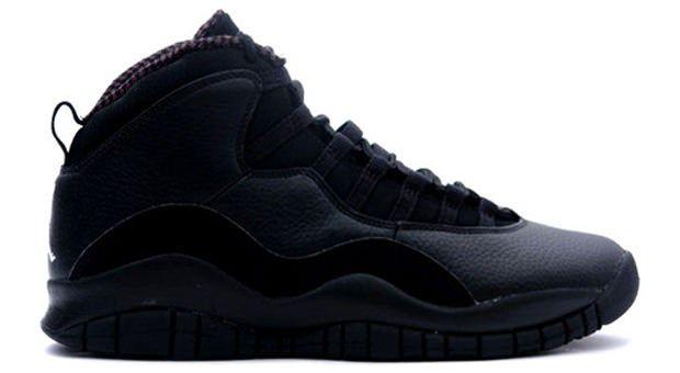 new concept 860b0 4e86a ... Air Jordan Retro 10 all black ...