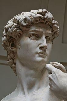 David (Michelangelo) - Wikipedia #greekstatue