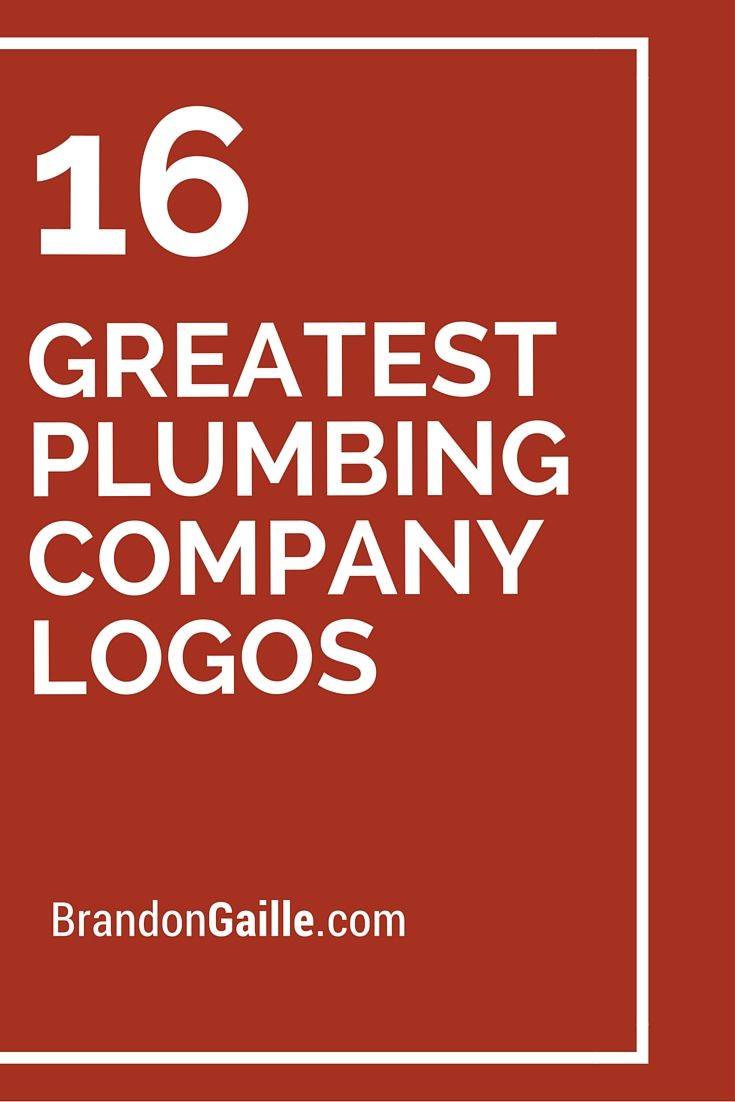 Plumbing Company Names Suggestions