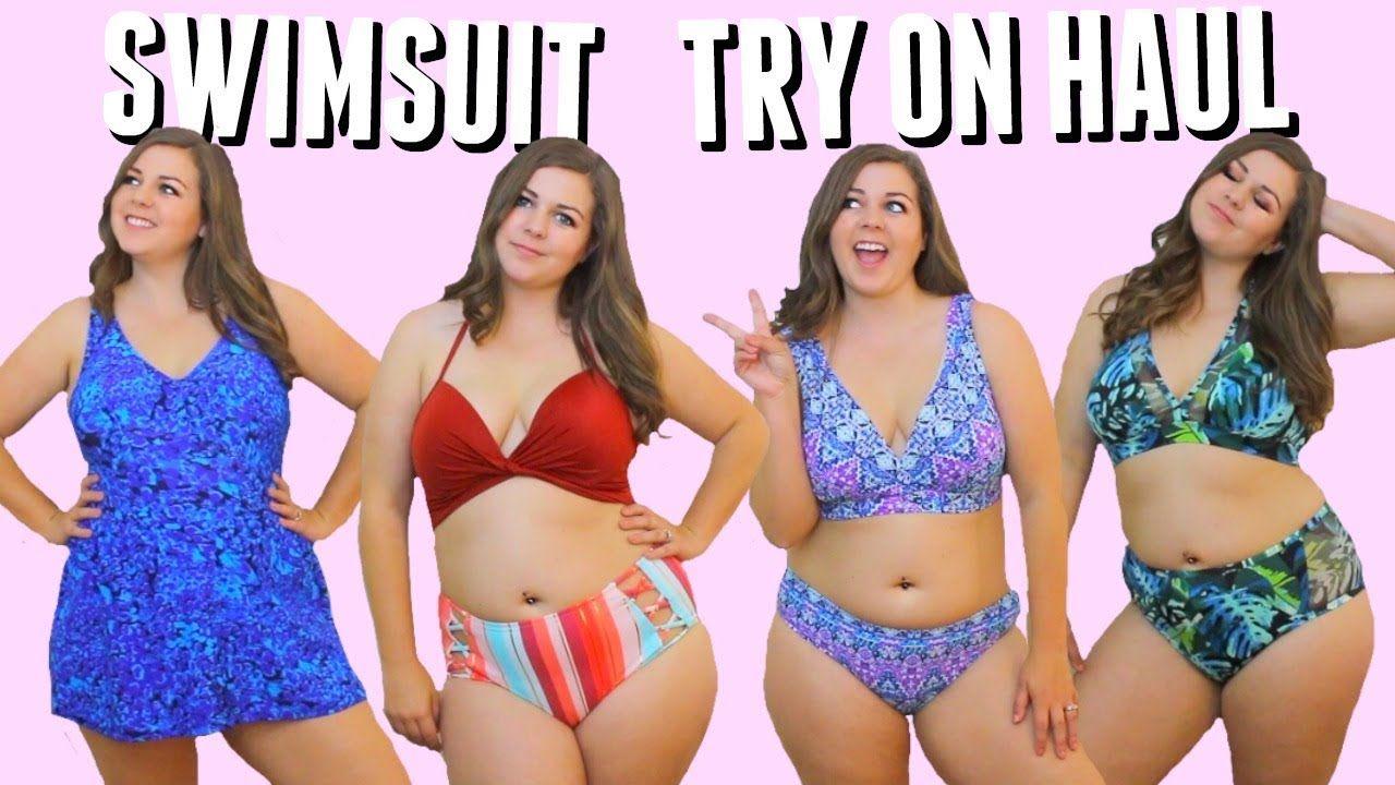 91f6abf384dd7 Curvy Bikini Try On Haul! Swimsuits For Spring Break 2018! - YouTube ...
