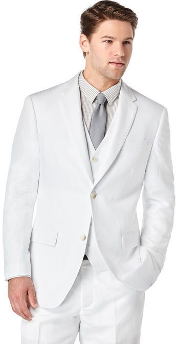 Big Tall White Linen Twill Suit Products White Linen Suit Big