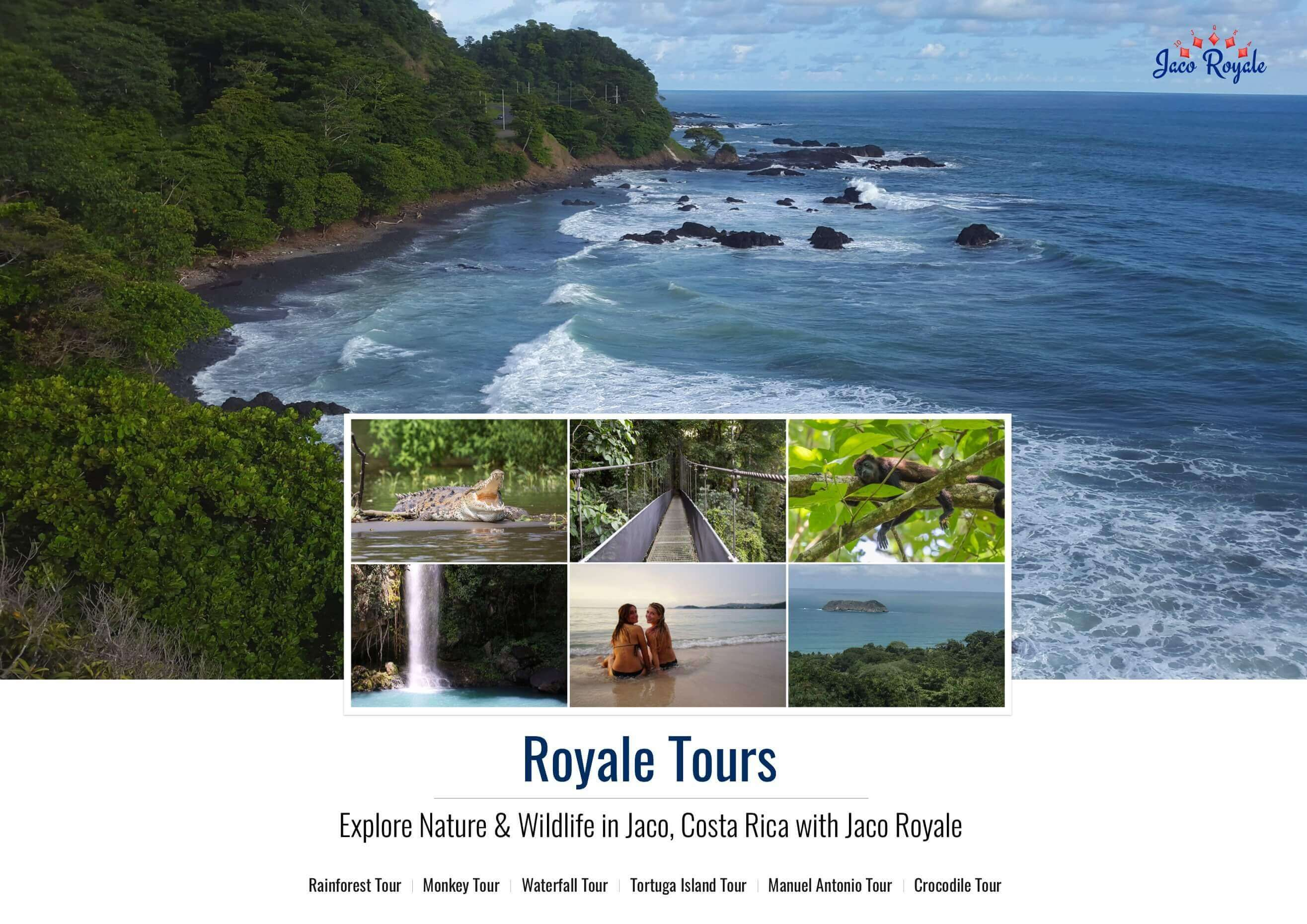 Rain Forest Tours Jaco Beach Adventure Vacation Jaco Royale Costa Rica