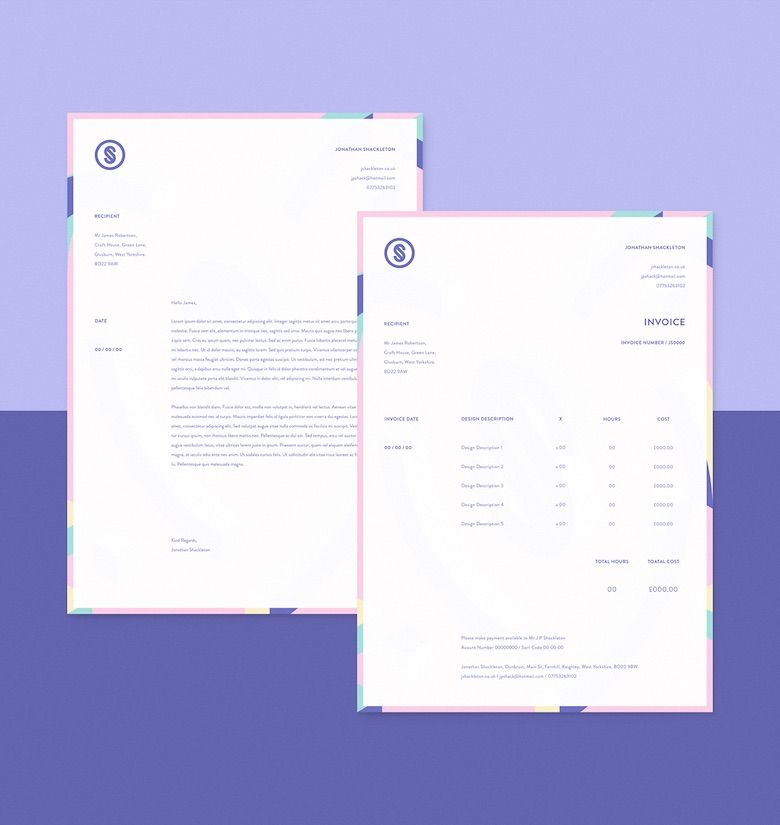 Creative invoice bill designs to impress clients - 6 creative - how to invoice clients