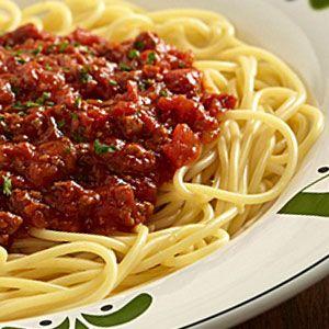 The actual olive garden bolognese sauce recipe spaghetti - Olive garden spaghetti and meatballs ...
