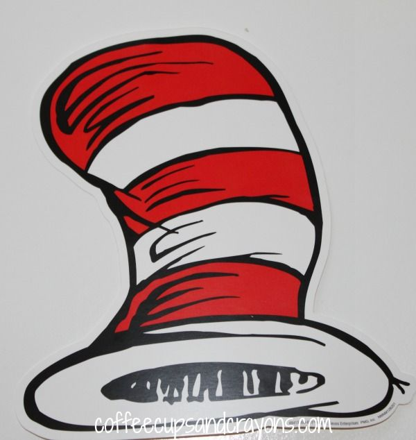 Versatile image with cat in the hat hat printable
