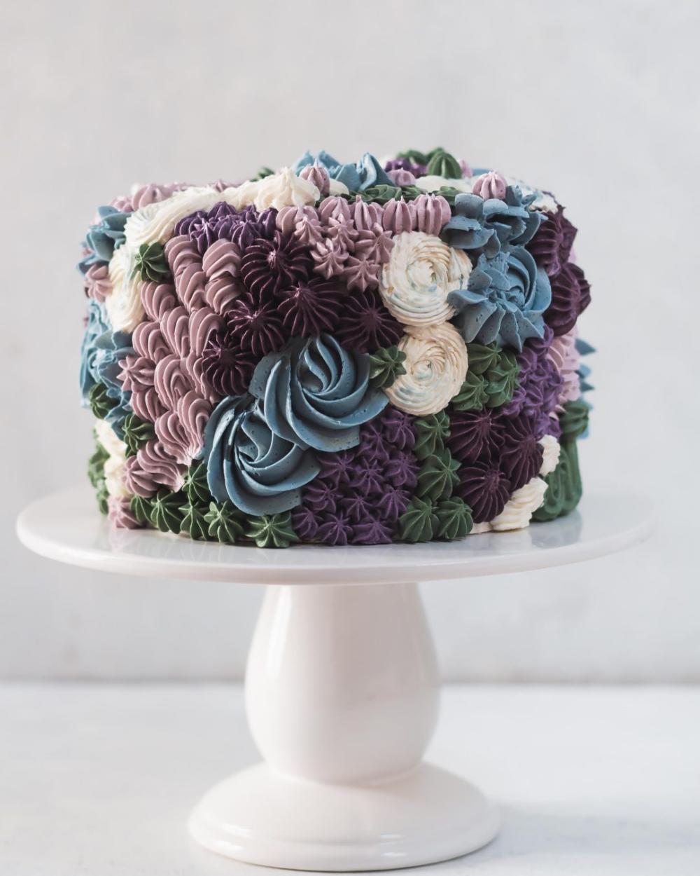 Star Tip Cake Decorating Fall cakes decorating, Cake