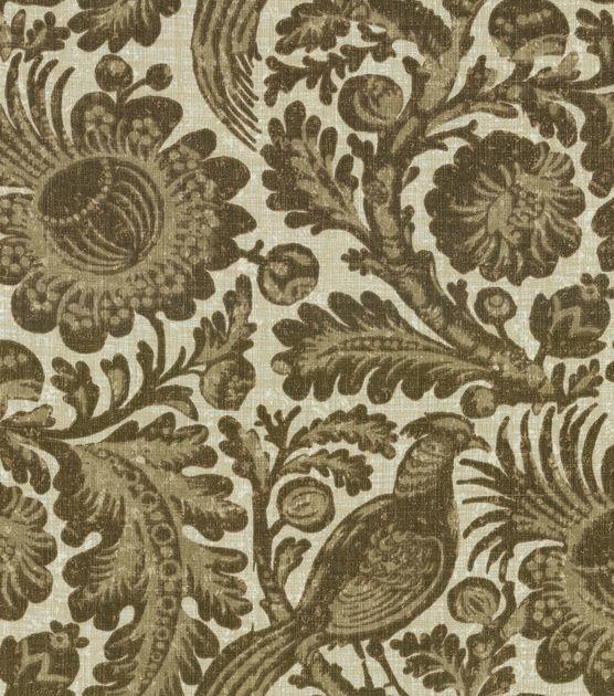 Dining Chairs? Home Decor Indoor/Outdoor Fabric-Waverly Sun N'Shade Tucker Resist / Walnut at Joann.com