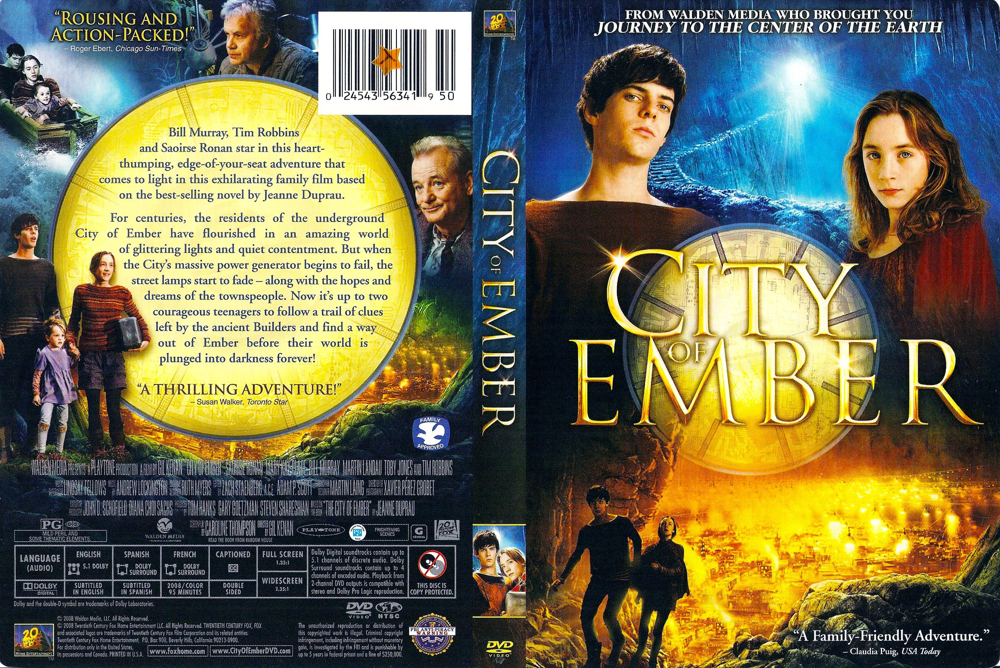 Cookbook Front And Back Cover Covers Box Sk City Of Ember 2008 High Quality Dvd Blueray Printable Dvd Covers Miniature Books Barbie Books