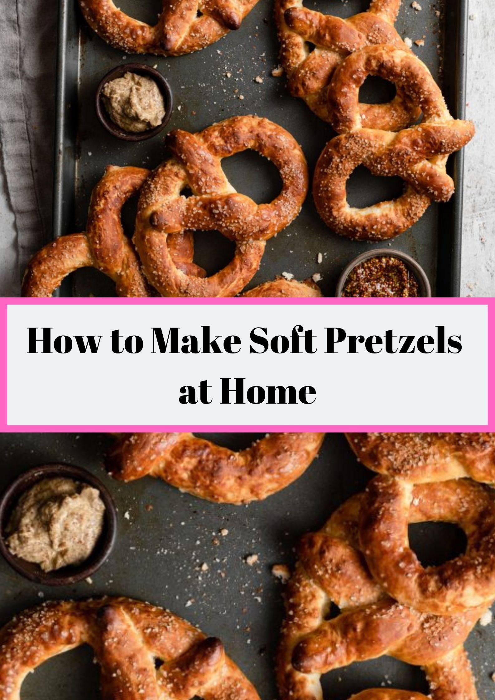 Soft Pretzel Bites Recipe No Yeast Dandk Organizer
